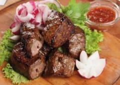Шашлик із яловичини (200г)