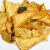0158. Tofu con Bambù &  Funghi