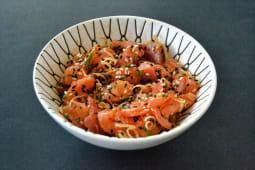 Salmon x Tuna Kimuchi