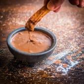 Churros con Tentación de Chocolate