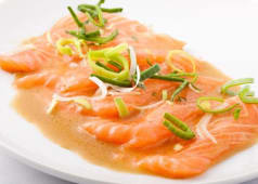 Carpaccio Saumon