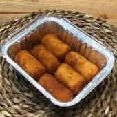 Croquetas con queso de cabra (6 uds.)
