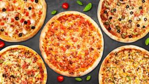 5 საშუალო პიცა პოპულარული და ფავორიტი კატეგორიიდან