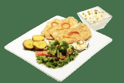 Milanesa de pescado (filete)