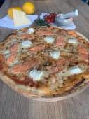 Піца Ніжна Філадельфія з лососем (500г)