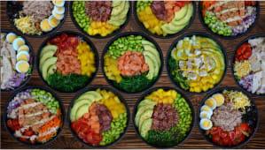 Diseña tu bowl de ensalada (mediana)