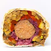 Шаурма з beyond-meat, овочами гриль і кремом з цвітної капусти (350г)