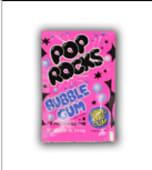 Pop rocks caramelle frizzanti gusto fragola