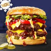 Double Burger de vita Sandwich