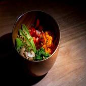 Buda bowl vegano (comida completa),