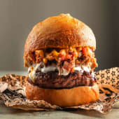 Hamburguesa Gringa + Patatas Caseras