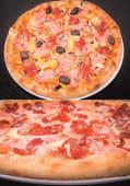 Oricare 2 pizza (cu sos)