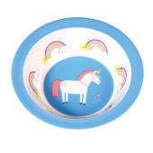 Ciotola in melamina – Unicorno