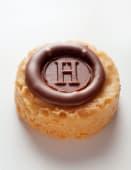 Galletas Sablé H de Chocolate con leche