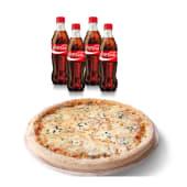 Menú pizza familiar