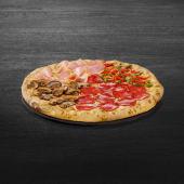 Pizza Quattro Stagioni Blat Cheesy Crust Ø medie