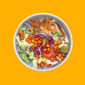 Боул з курчам, яйцем, едамаме та соусом Карі (380г)