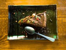 Tarta de chocolate y pimienta
