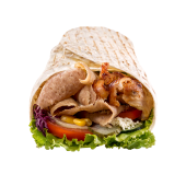 Mix kebab tortilja – velika
