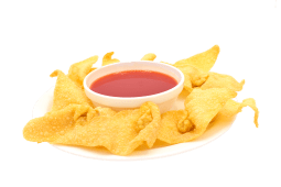 Wantán frito con queso (10 uds.)