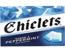Chiclets Peppermint 16.8g