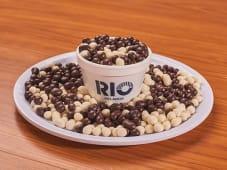 Topping de microgalletitas de chocolate blanco