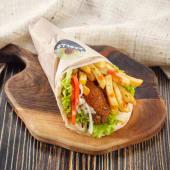 Veggie pita (fasting)