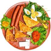 Monte kristo doručak