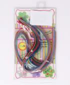 Papel Filigrana 42Cm De 1Cm Y 1.03Cm Varios Colores