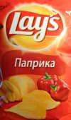 Чіпси Lays з паприкою