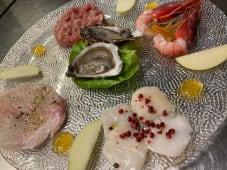 Mosaico di pesce crudo - senza glutine