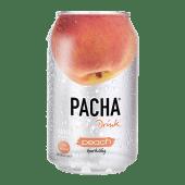 Pacha გაზირებული სასმელი, ლიჩის.  Pacha Drink Lychee