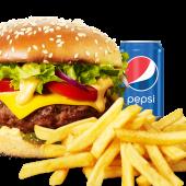 Meniu  American Burger de vită