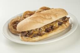 Combo Philly steak + pan pirujo o tortilla + bebida