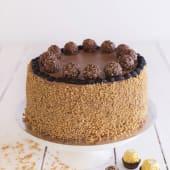 Tarta Ferrero (porción)