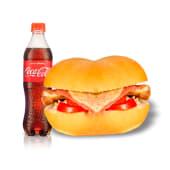 Combo 2 - filete mix regular + Coca Cola (1/2 lt.)