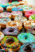 Docena de donuts cartoons