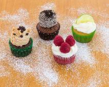 Caixa com 4 Cupcakes do Dia