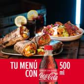Combo para 2 - Nachos Guakamola, 2 Burritos La Infiel y 2 bebidas