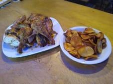 Pollo a la parrilla + Papas Fritas