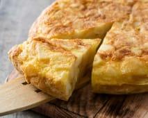 Tortilla española entera (4 porciones)