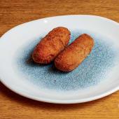 Croquetas de pollo a l'ast (2 uds.)