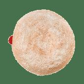 დონატი მარწყვის ჯემით - Donut with strawberry jam