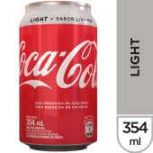 Coca Cola Light - Lata 354 ml