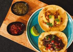 Tacos (3 uds.) + Nachos