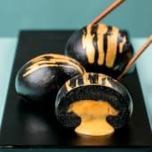 Golden black bao (2 uds.)