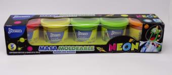 Masa Para Moldear Plegadiza 5X5Onz Neon 550187