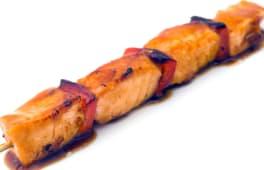 Шашличок з лосося (50г)