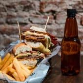 Sándwich de milanesa + bebida