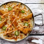 Crispy Chicken Oven Baked Pasta باستا فرن بالدجاج الكريسبي